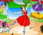 Balerin giydirme