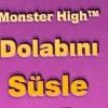 monster high dolabını süsle