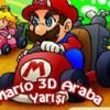 Mario 3 Boyutlu Araba Yarışında