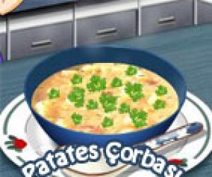 Patates Çorbası Yap