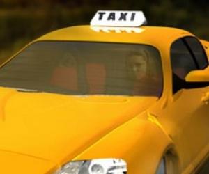 trafikte taksi park etme