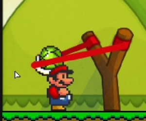 Mario ile Angry Birds Etapları