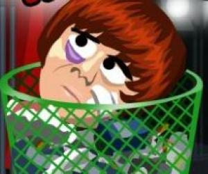 Justin Bieberin Kafasını Tekmele