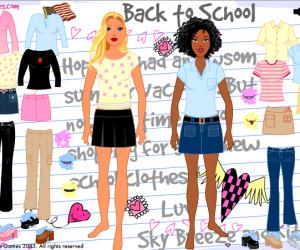 Okul Kıyafeti Giydirme