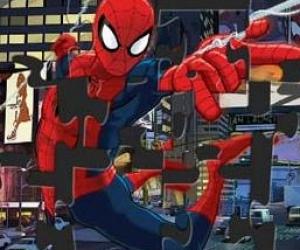 Örümcek Adam Yapbozu Kolay Zor Çok Zor