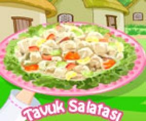 Tavuk Salatası Yap