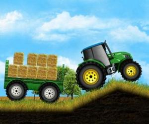 Traktörle Yük Taşıma
