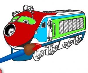Tren Boyama Oyunu Boyama Oyunlari