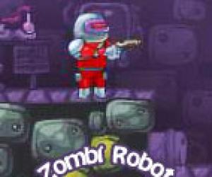 Zombilere Savaş Açan Robot