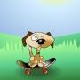 Frizbi köpek