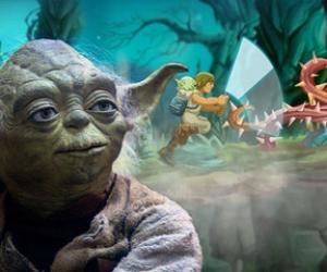 Disney Yoda ile Jedi Eğitimi